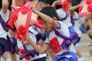 運動会 踊りの写真・画像素材[812448]
