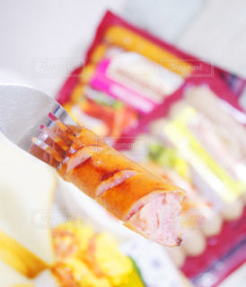 朝食,ウインナー,ソーセージ,贅沢,肉汁,アンバサダー,ジョンソンヴィル