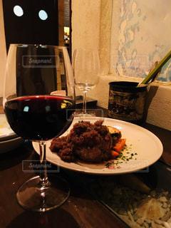 食べ物,秋,食事,ワイン,ハンバーグ,食欲,オニオンソース