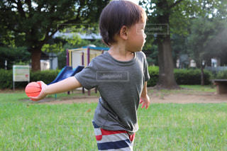 子ども,公園,スポーツ,キッズ,屋外,ボール,運動,外遊び