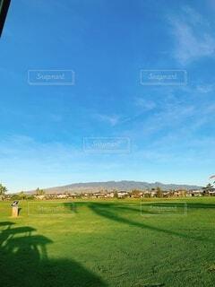 風景,空,屋外,緑,雲,景色,日差し,草,ゴルフ,ハワイ,日中