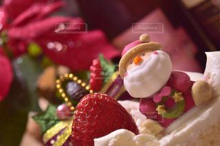冬,ケーキ,クリスマス,ワイン,ポインセチア