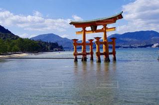 厳島神社の写真・画像素材[1038349]