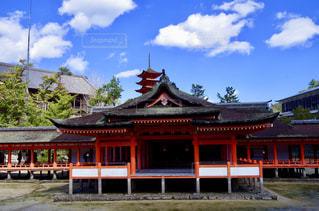 厳島神社の写真・画像素材[1044594]