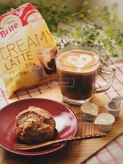 コーヒーとスコーンの写真・画像素材[1267137]