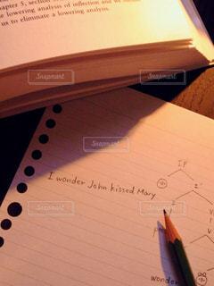 勉強中?の写真・画像素材[1306884]