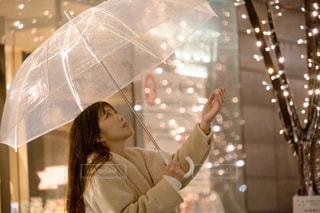 女性,1人,傘,大阪,人,グランフロント,アンバサダー