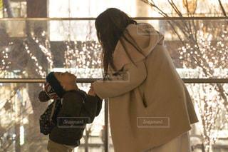 女性,子ども,家族,2人,大阪,イルミネーション,グランフロント,アンバサダー