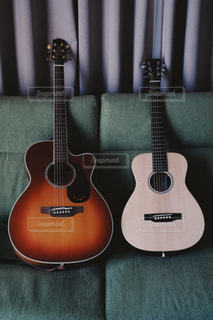ギターのクローズアップの写真・画像素材[2918962]