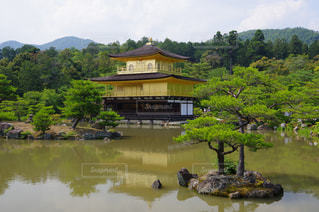 逆さ金閣寺の写真・画像素材[1048176]