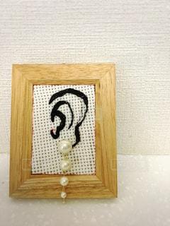 耳ディスプレイの写真・画像素材[867405]