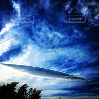 青い空の写真・画像素材[1101638]