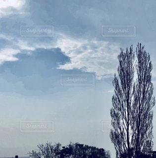 空には雲のグループ - No.1106718