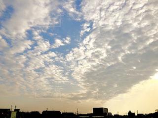 空の雲の写真・画像素材[1270284]