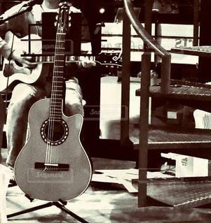 ギターのクローズアップの写真・画像素材[3204564]