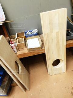 DIY,工作,木材,木の板