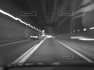 高速道路の光の写真・画像素材[817706]