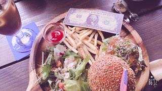 食べ物,ハンバーガー,テーブル,USA,cafe,lunch