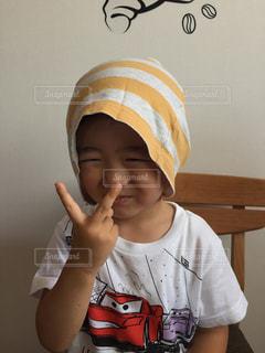 帽子をかぶった少年 - No.750995