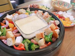 食事,テーブル,ご飯,愛知県,チーズフォンデュ,野菜いっぱい