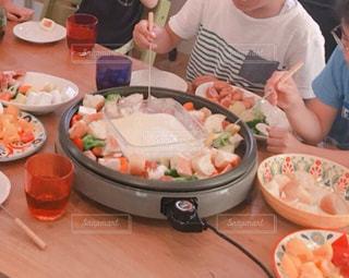 食事,ランチ,テーブル,ご飯,愛知県,チーズフォンデュ,野菜いっぱい