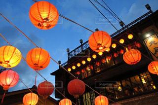 夜景,観光,台湾,九份,海外旅行