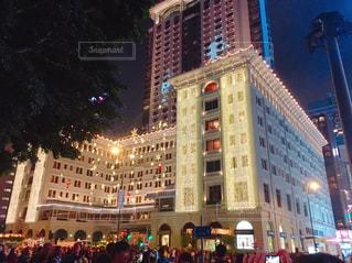 夜景,景色,ホテル,香港,海外旅行,チムサアチョイ,ザ・ペニンシュラ香港