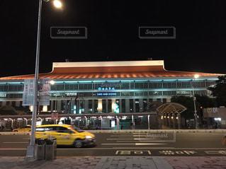 夜景,景色,観光,台湾,台北,台湾駅