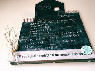 カフェ,メニュー,黒板