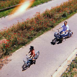 サイクリングの写真・画像素材[1247803]