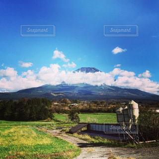秋空の富士山!の写真・画像素材[1525478]