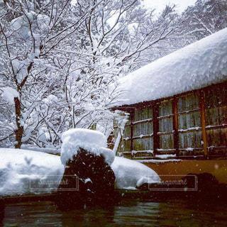 雪見温泉の写真・画像素材[1732433]