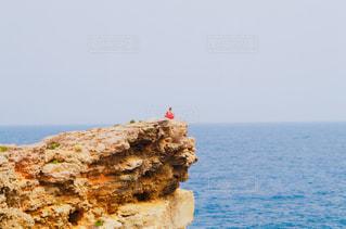 絶壁からの海 - No.917083