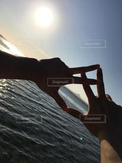 海,太陽,沖縄,JSB,ジェスチャー
