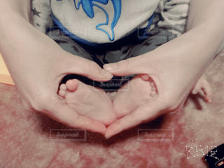 足,手,ハート,小さい,可愛い,ママと子供