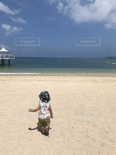 海,ビーチ,青空,散歩,沖縄,休日,お出かけ