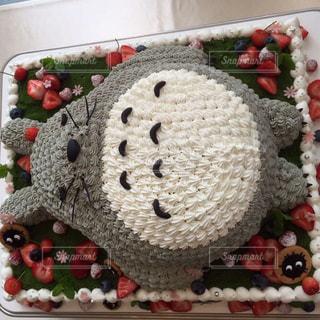 トトロケーキの写真・画像素材[785095]