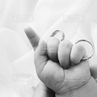 赤ちゃんの手の写真・画像素材[814459]