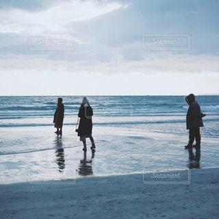 自然,海,ビーチ,砂浜,海岸,人,フィルム