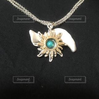 necklet,DIY、アクセサリー、ハンドメイド、ゴールド、シルバー,太陽、ライジング