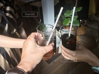 飲み物,緑,ジュース,日光,ストロー,グラス,乾杯,ドリンク,drink,カンパイ