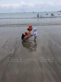伊豆,0歳,初めての海,ママと子ども