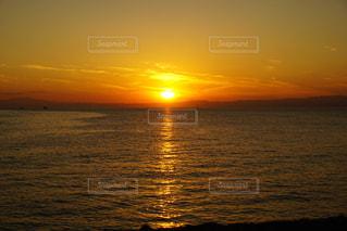 夕日,夕陽,sunset,逗子,日の入
