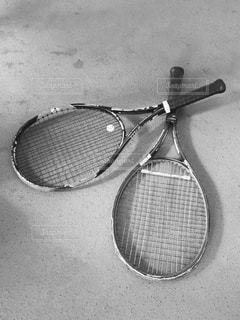 テニスラケットの写真・画像素材[820132]