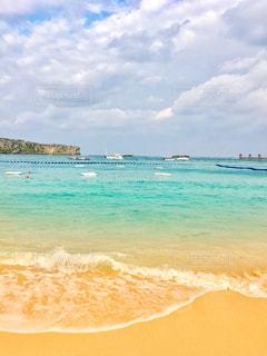 海,青,沖縄,旅行