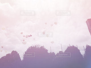 空には雲のグループ - No.815587