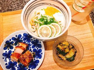 食事,うどん,皿,料理,モナミ
