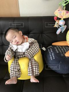 子ども,部屋,室内,人,赤ちゃん,バンボ,ねんね,お部屋でのんびり