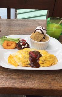 カフェ,ランチ,美味しい,オムライス,lunch,グルメ,お子様ランチ,テラス席,エアーカフェ,ea cafe