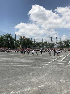 初めての運動会の写真・画像素材[767915]